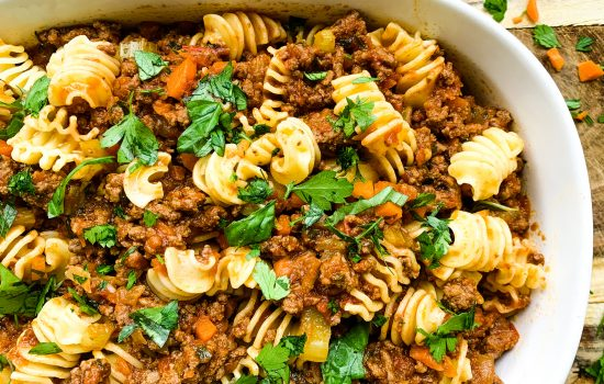Fast and Simple Bolognese