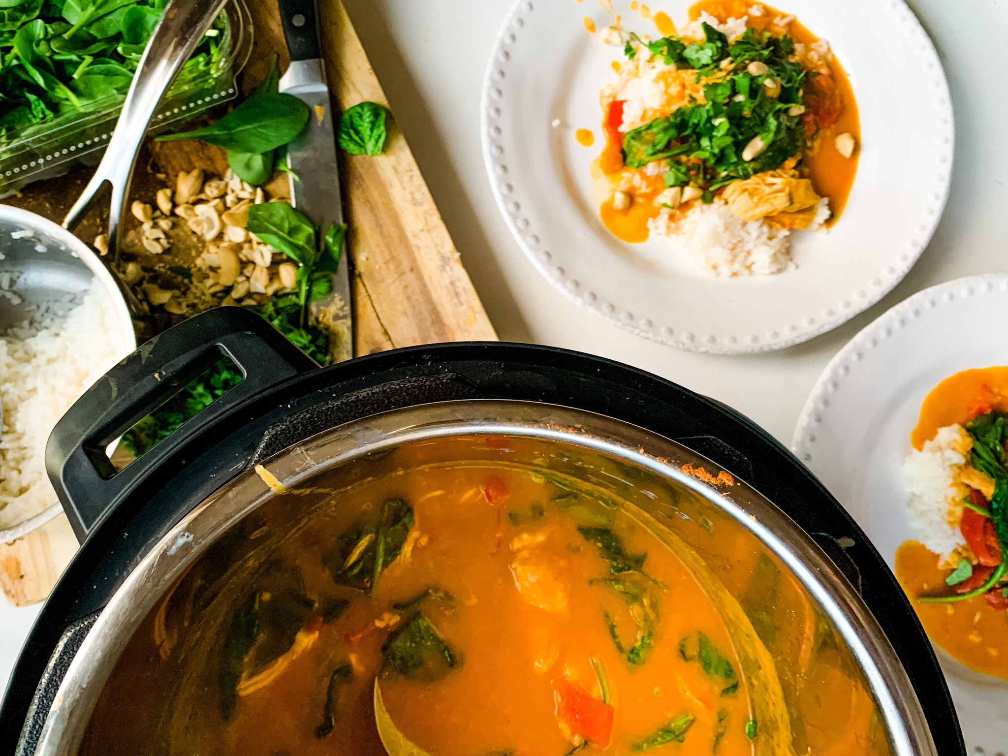 Pumpkin Curry with Chicken or Butternut Squash