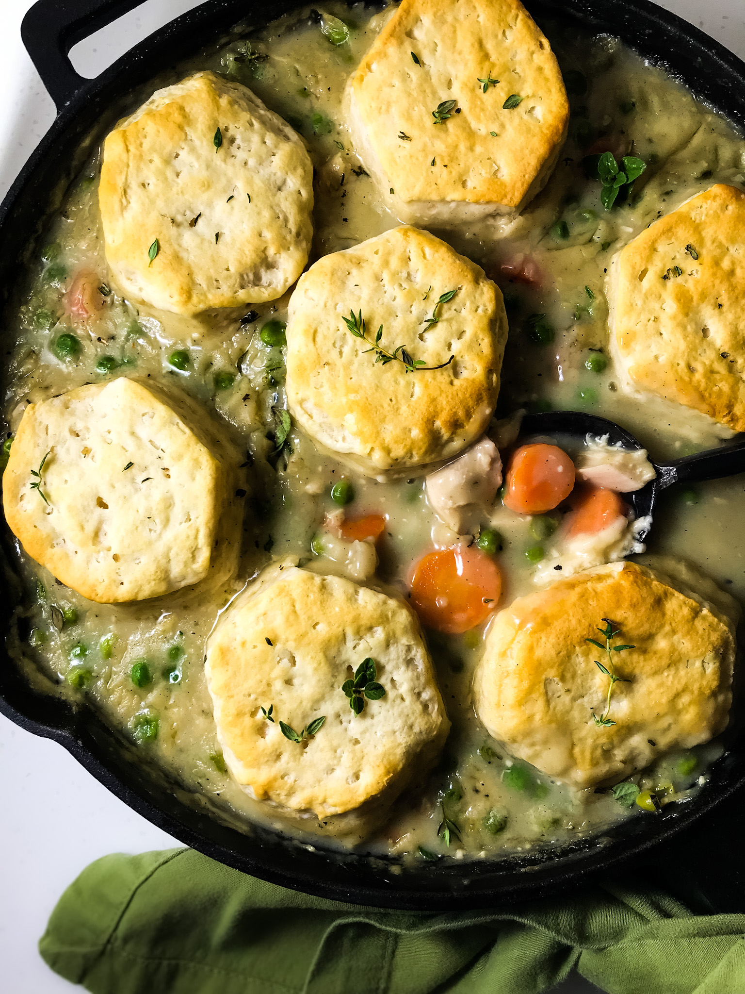 Ina's Chicken Stew with Biscuits